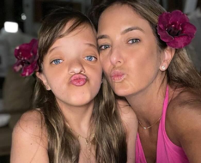 Ticiane Pinheiro e a primogênita, Rafa Justus (Foto: Instagram)