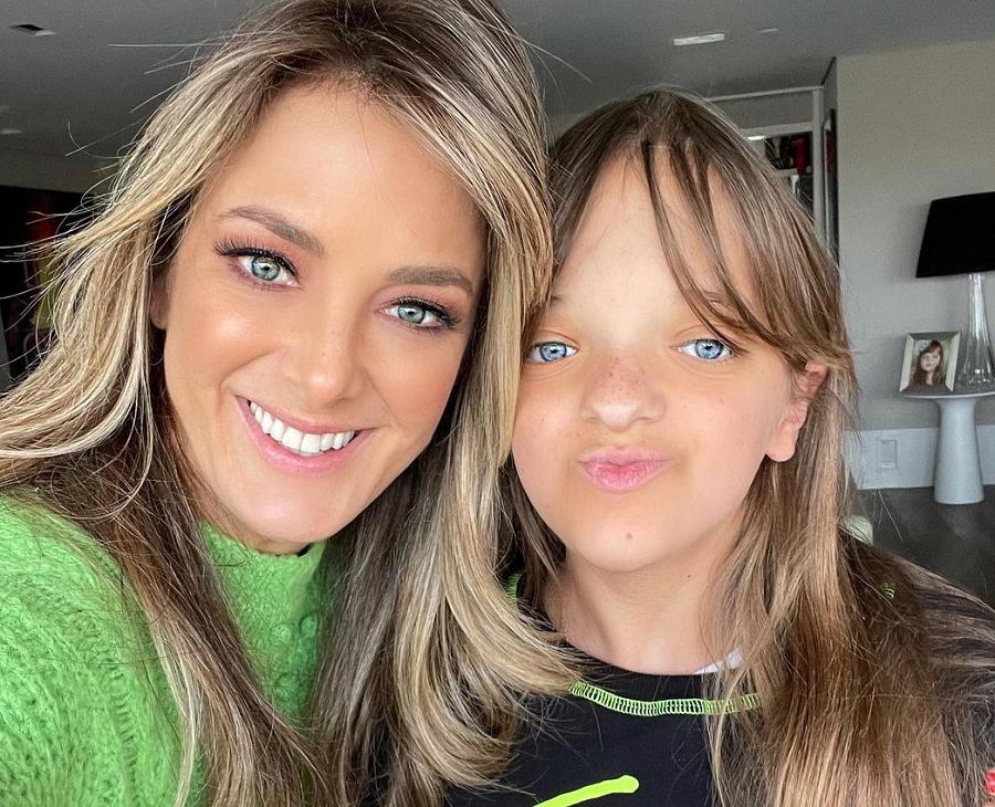 A apresentadora Ticiane Pinheiro se declarou para a filha, Rafa Justus. (Foto: Instagram)