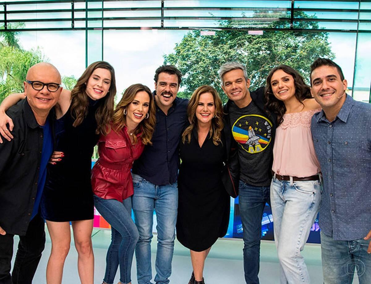 Entre os apresentadores que fizeram história, destaque para André Marques, Ana Furtado, Cissa Guimarães, Otaviano Costa e Monica Iozzi. (Foto: Globo)