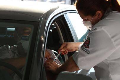 Já o número parcial aponta que 69,50 milhões de habitantes receberam pelo menos uma dose. (Foto: Agência Brasil)