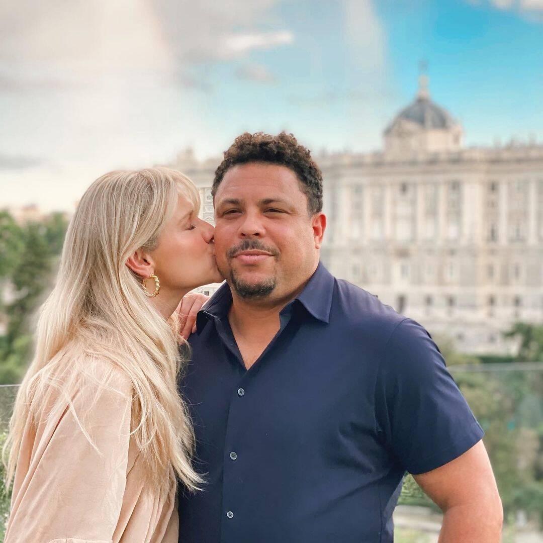 Ronaldo casou-se com Milene Domingues, Daniella Cicarelli e Bia Antony, mas separou de todas e hoje namora com Celina Locks. (Foto: Instagram)