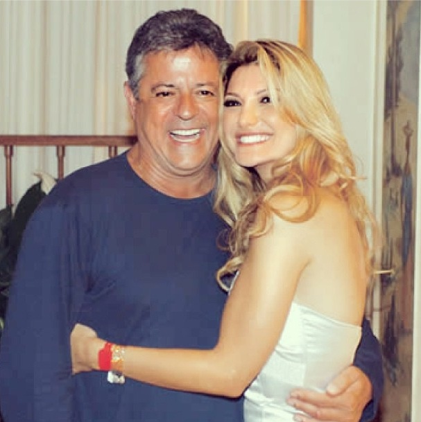 Marcos se casou com Tina Serina, Márcia Mendes, Belisa Ribeiro e Renata Sorrah. Foi esposo também da atriz Flávia Alessandra e de Antônia Fontenelle. (Foto: Instagram)