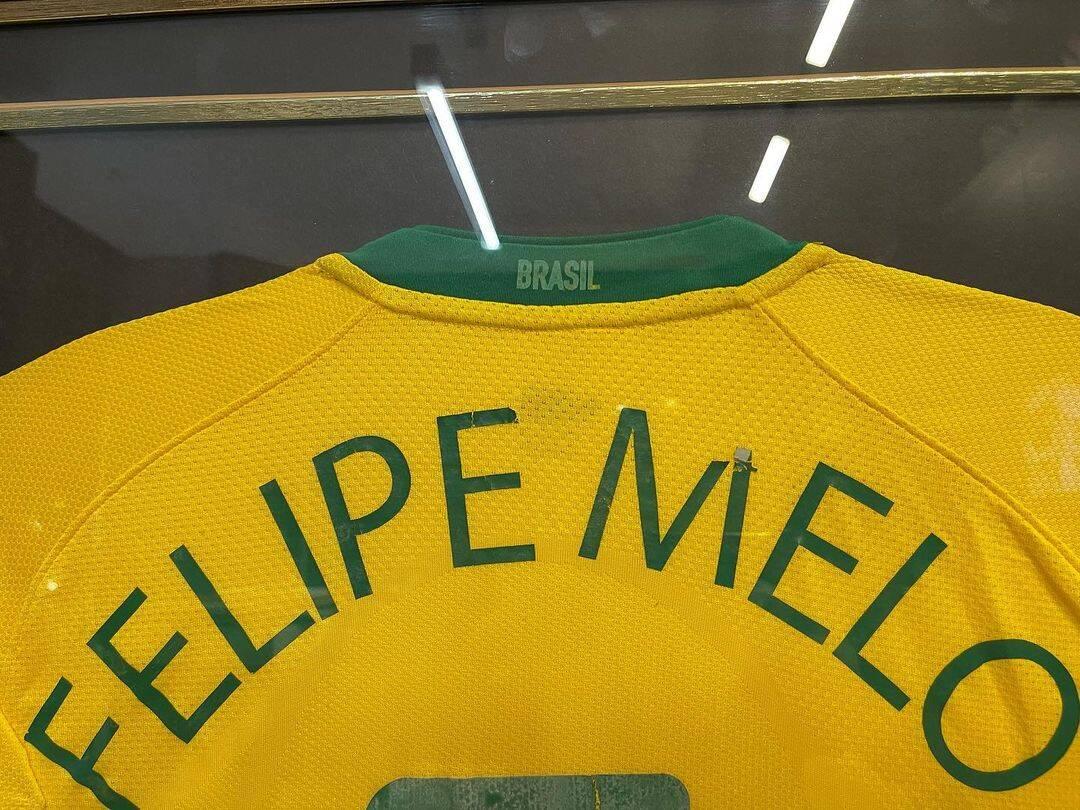 Felipe Melo, o volante do Palmeiras, mostrou seu apoio ao presidente e as manifestações. (Foto: Instagram)