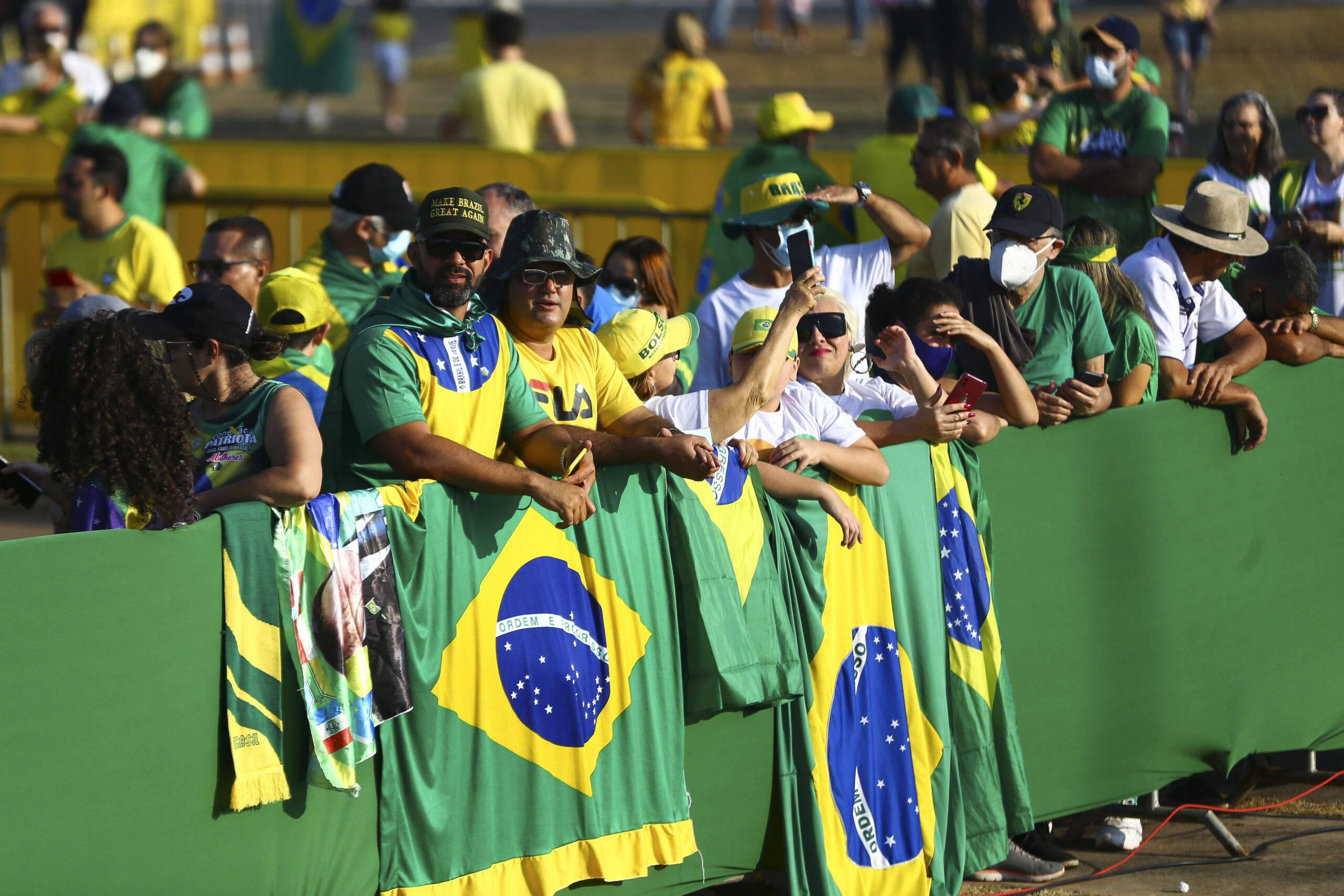 No dia 7 de setembro é comemorado a Independência do Brasil. Neste ano, a data foi marcada por protestos em todo o país. (Foto: Agência Brasil)