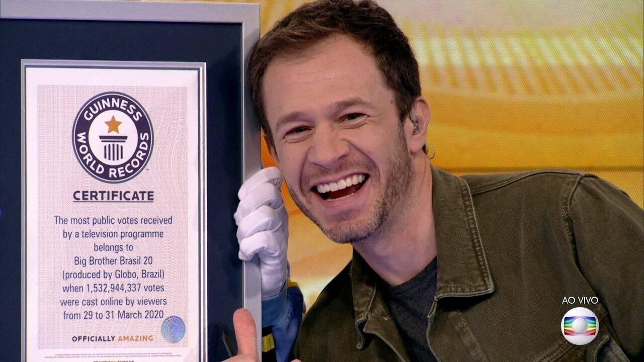 Com ele no comando, o programa bateu recordes de votações e teve edições históricas. (Foto: GloboPlay)