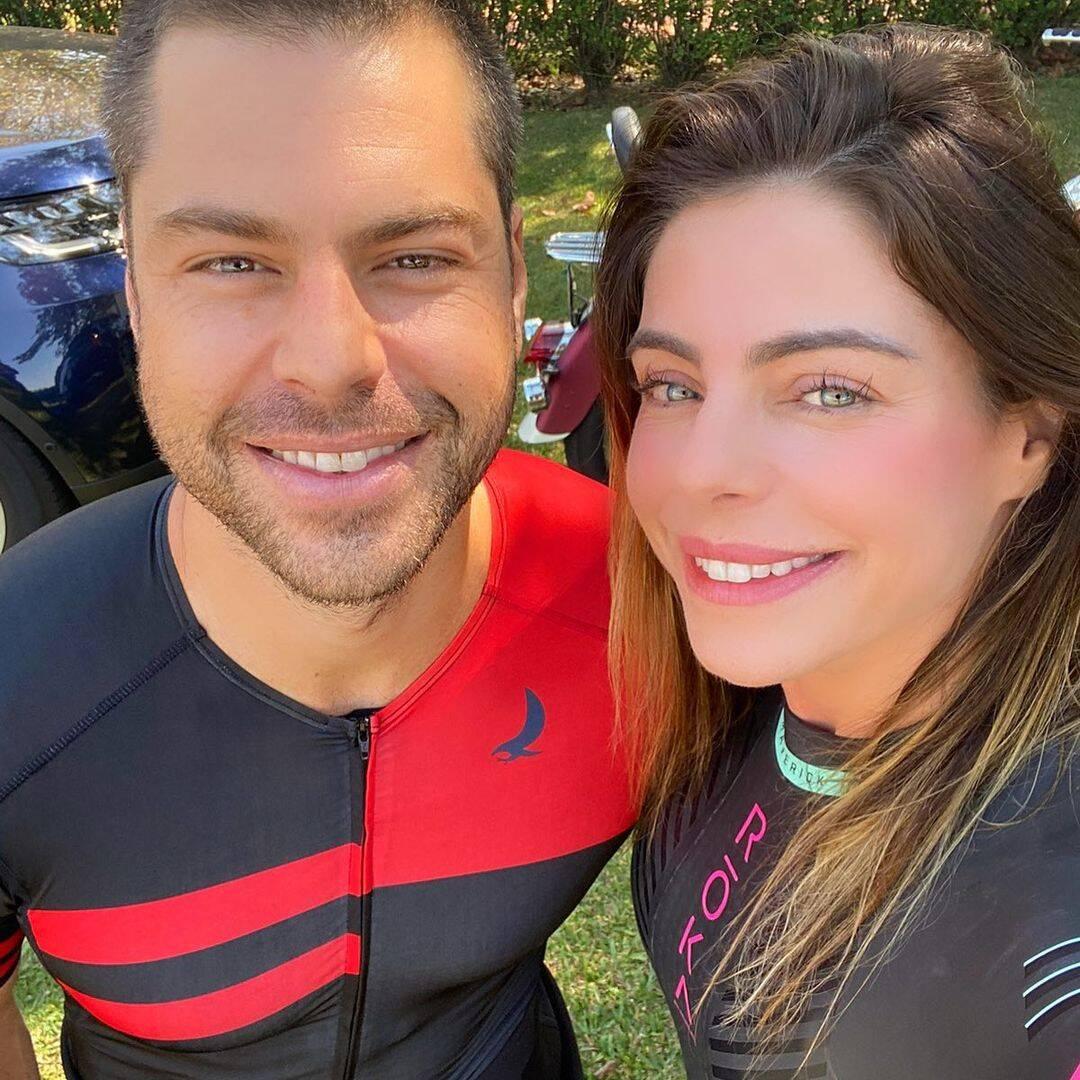 Daniella também se casou com o triatleta Frederico Schiliró, com quem teve uma filha, a Ana Beatriz. A terceira vez que a modelo subiu no altar, foi no ano de 2018, ao lado do empresário Guilherme Menge e eles seguem juntos até hoje. (Foto: Instagram)