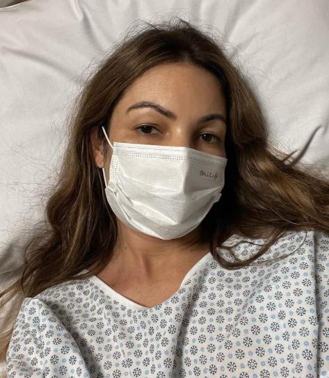 Patrícia Poeta desabafou sobre sua cirurgia de emergência (Foto: Instagram)