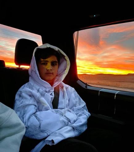 Mason Disick Mason, filho de Kourtney e Scott,é o mais velho entre os herdeiros do clã. Ele é sagitariano, nasceu no dia 14 de dezembro de 2009 (Foto: Instagram)