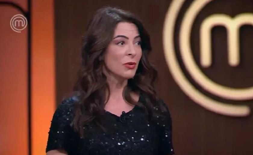 A apresentadora foi criticada na web após uma fala polêmica no 'MasterChef Brasil' (Foto: Band)