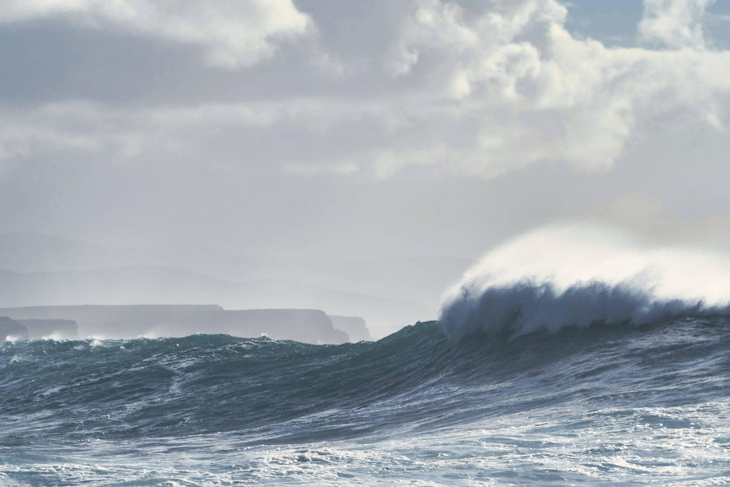 Em 1868, dois terremotos causaram um tsunami de magnitude 8.5. (Foto: Unsplash)