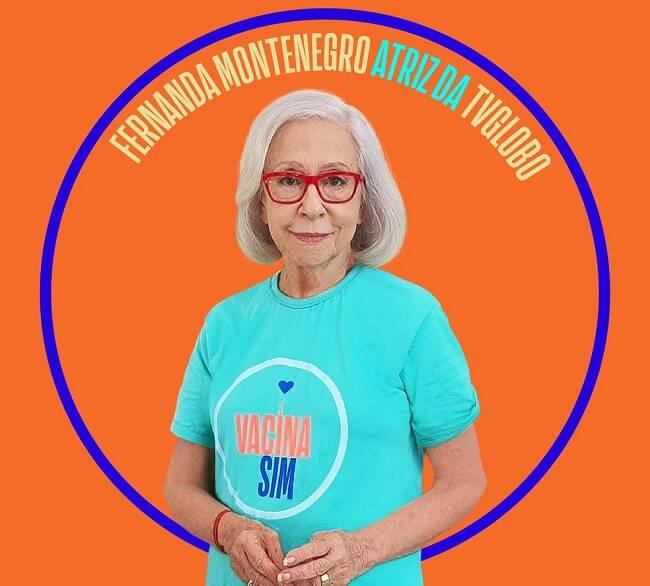 """A Rede Globo foi uma das apoiadoras da campanha """"Vacina Sim"""", que conscientiza sobre a importância do imunizante. (Foto: Divulgação)"""