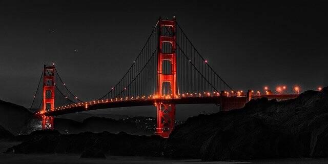 1. São Francisco, Califórnia, EUA - a cidade foi escolhida devido seu cuidado com a pandemia e o número de vacinados (Foto: Pixabay)