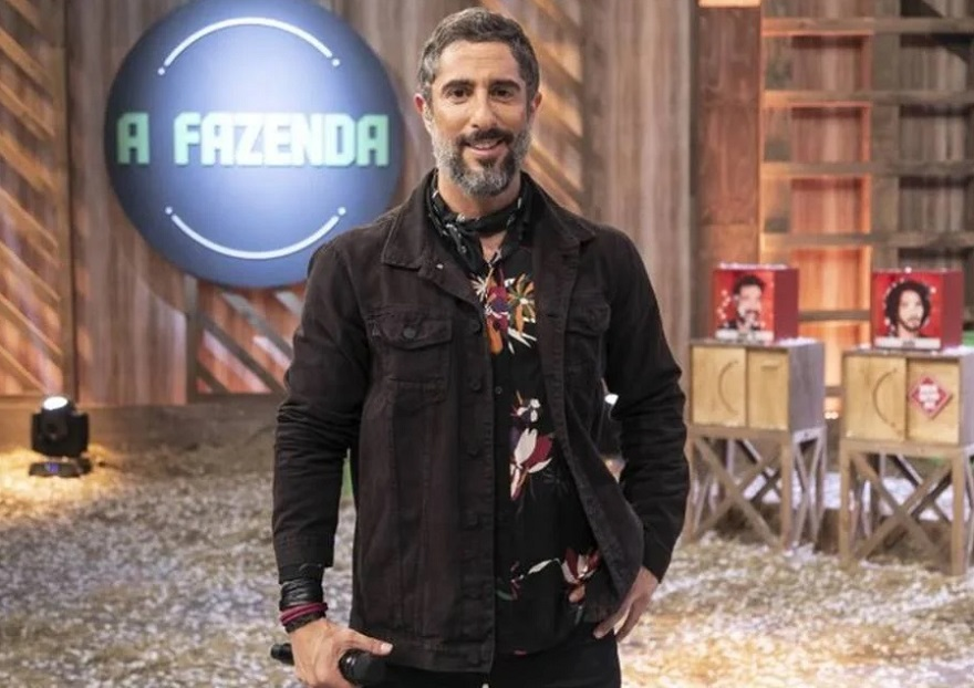 Antes da estreia, o ex-apresentador desejou 'boa sorte' para Galisteu. (Foto: Divulgação)