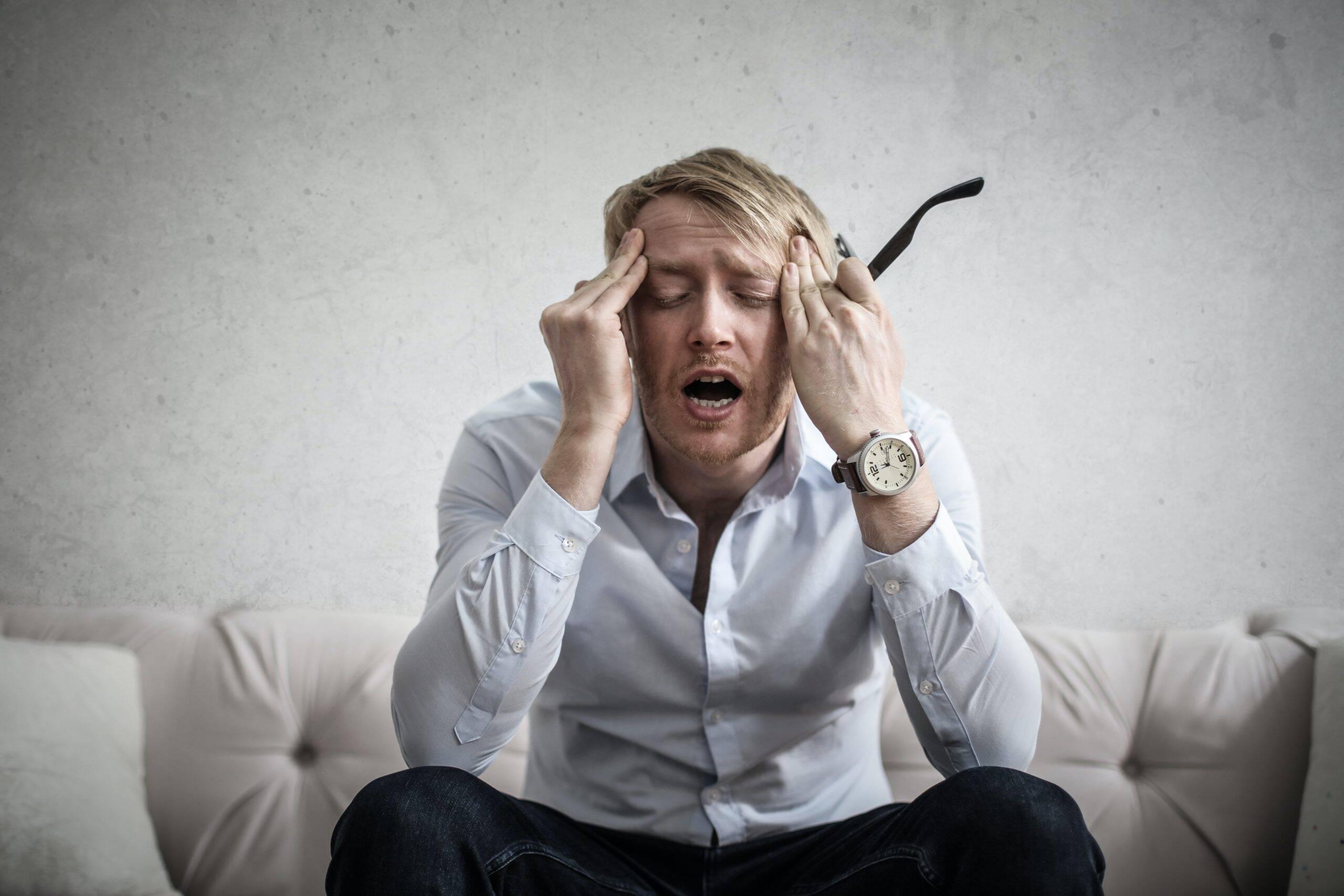 Tanto a saúde física, quanto a emocional podem ser fortemente atingidas com o estresse excessivo. (Foto: Pexels)