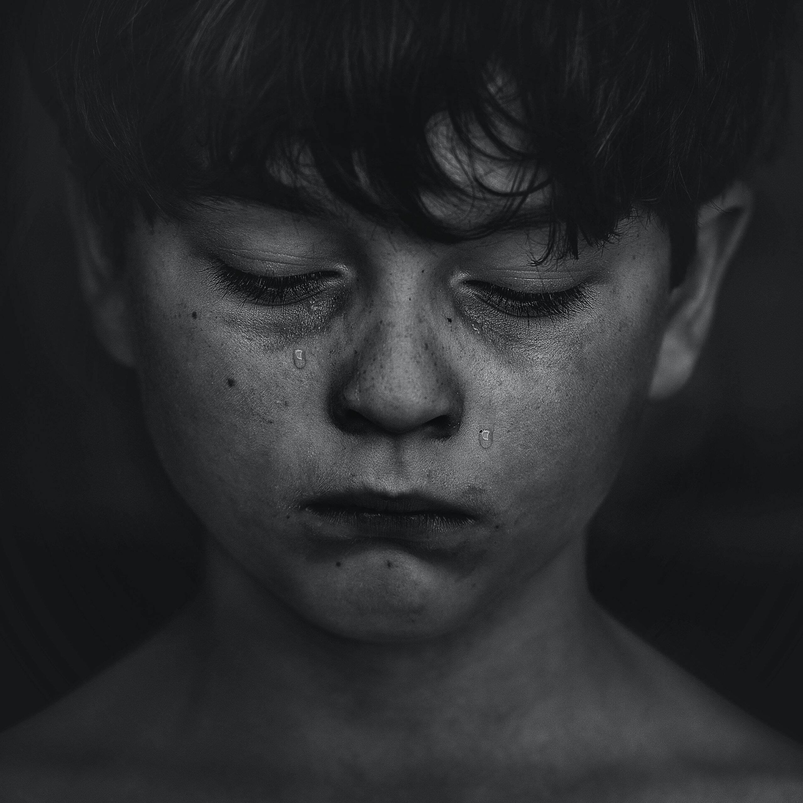 Um estudo realizado pela Faculdade de Medicina da Universidade de São Paulo – USP, apontou que uma a cada quatro crianças tem ou teve algum quadro de depressão durante a pandemia. (Foto: Pexels)