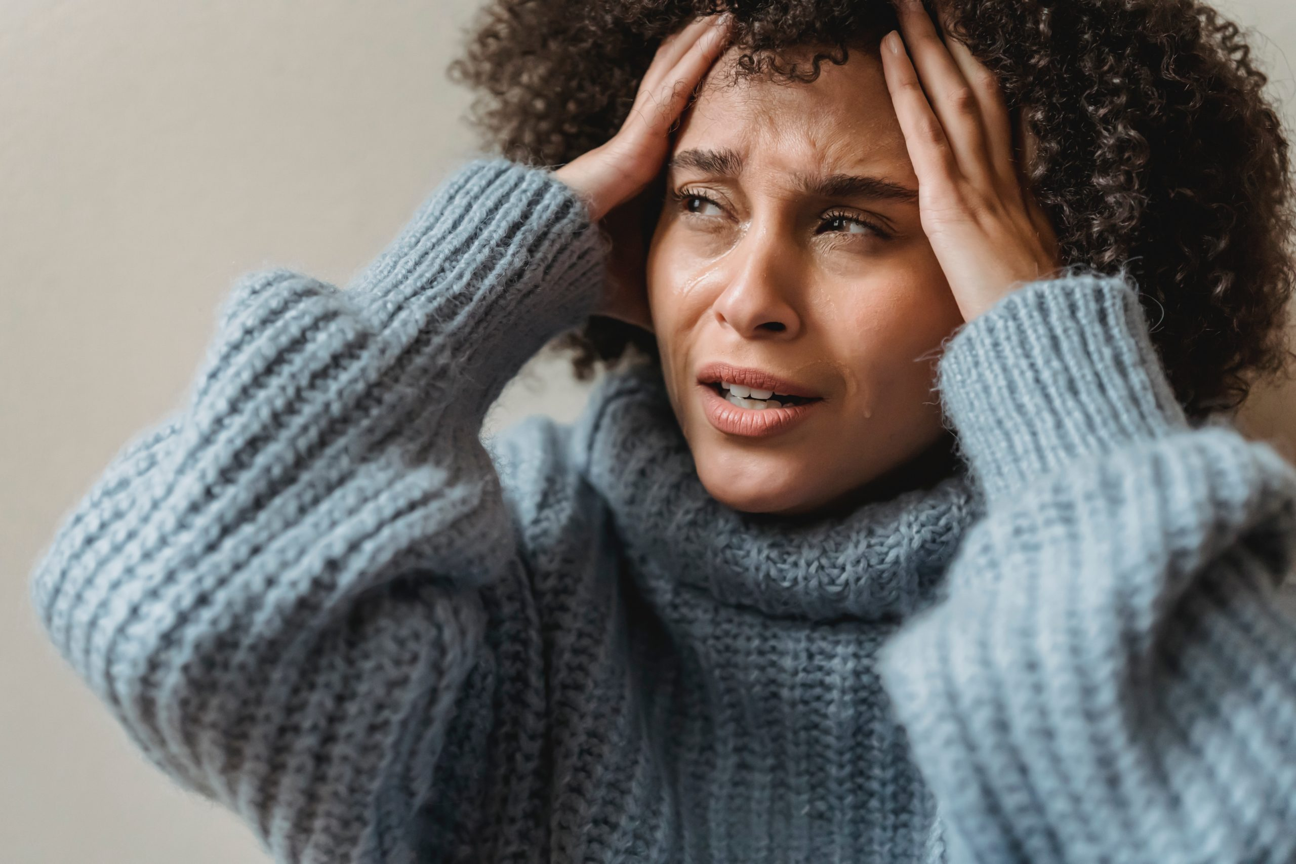 A ansiedade está ligada a um sentimento de nervosismo, preocupação, apreensão e até mesmo o medo. (Foto: Pexels)