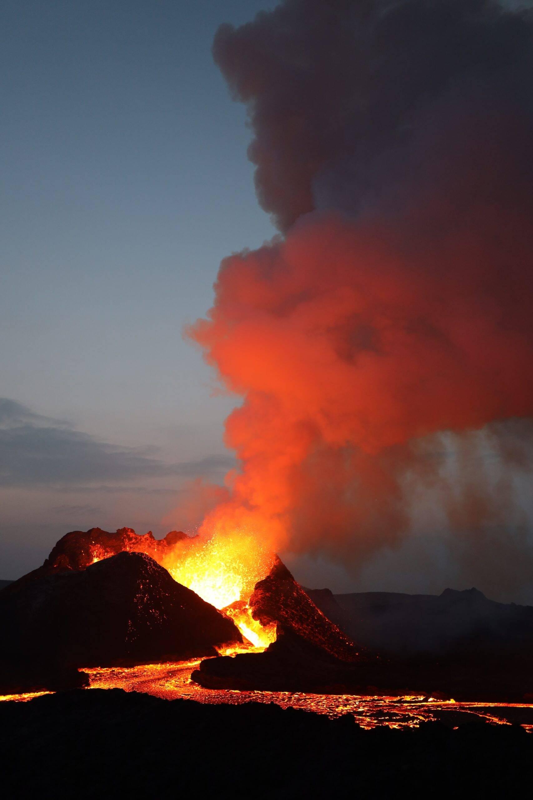 Para que a erupção causasse esse impacto no Brasil, as atividades vulcânicas do Cumbre Vieja teriam que alcançar um nível muito alto de magnitude. (Foto: Unsplash)