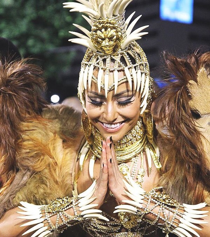 Sabrina Sato recuperou sua majestade no carnaval de 2022. (Foto: Instagram)