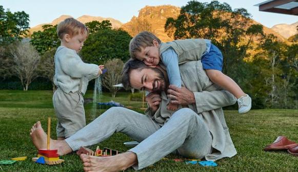 Thales Bretas fez uma linda reflexão sobre os filhos (Foto: Instagram)