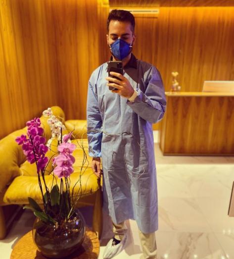 O dermatologista está sempre publicando fotos ao lado de seus filhos (Foto: Instagram)
