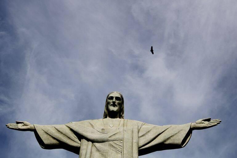 Na restauração de 2010, cem pessoas trabalharam diretamente na substituição de mais de 60 mil peças de pedra-sabão. (Foto: Tânia/Agência Brasil)