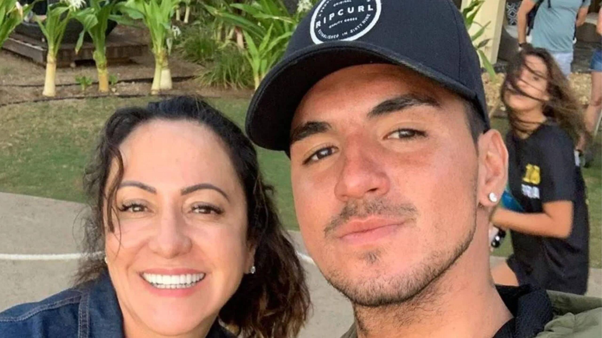 """Veja print de mãe de Gabriel Medina atacando Yasmin Brunet: """"Tenho vídeo dela fazendo sac*nagem"""" (Foto: Instagram)"""