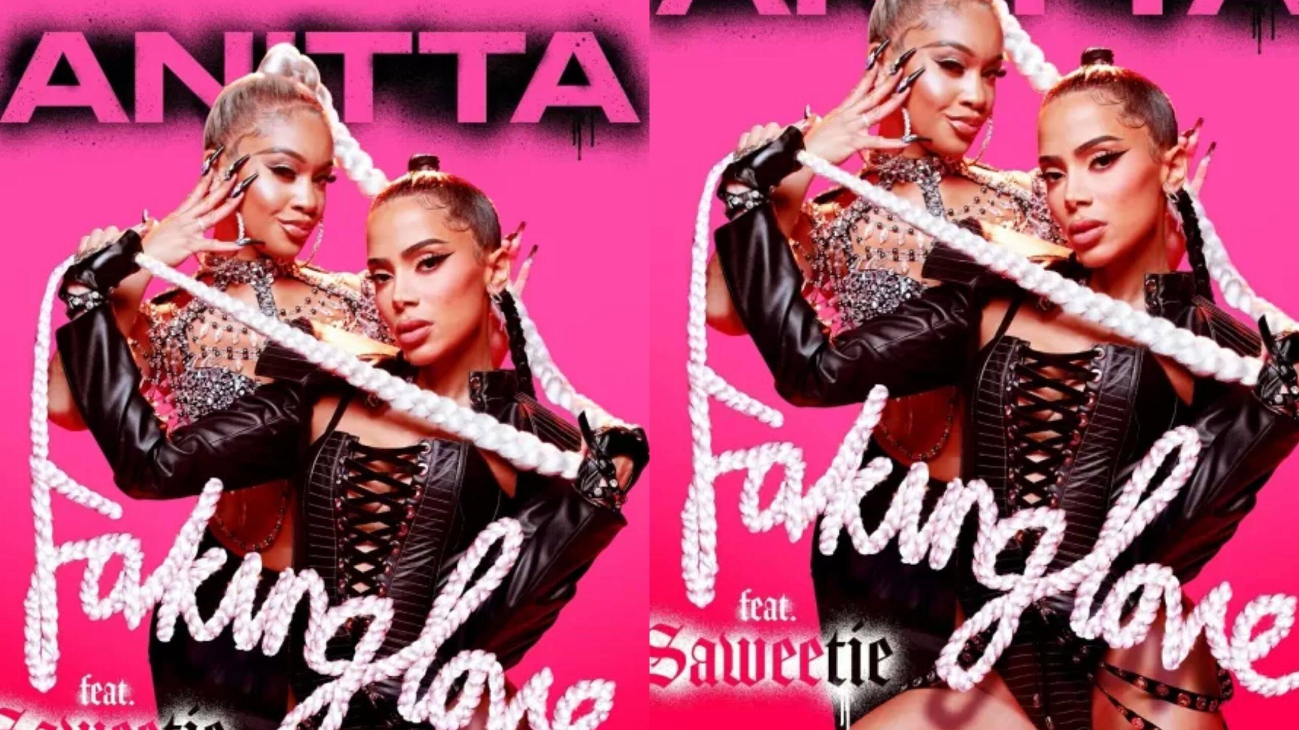 Anitta e Saweetie unem forças em novo single que chega às plataformas digitais nesta quinta-feira. (Foto: Divulgação)