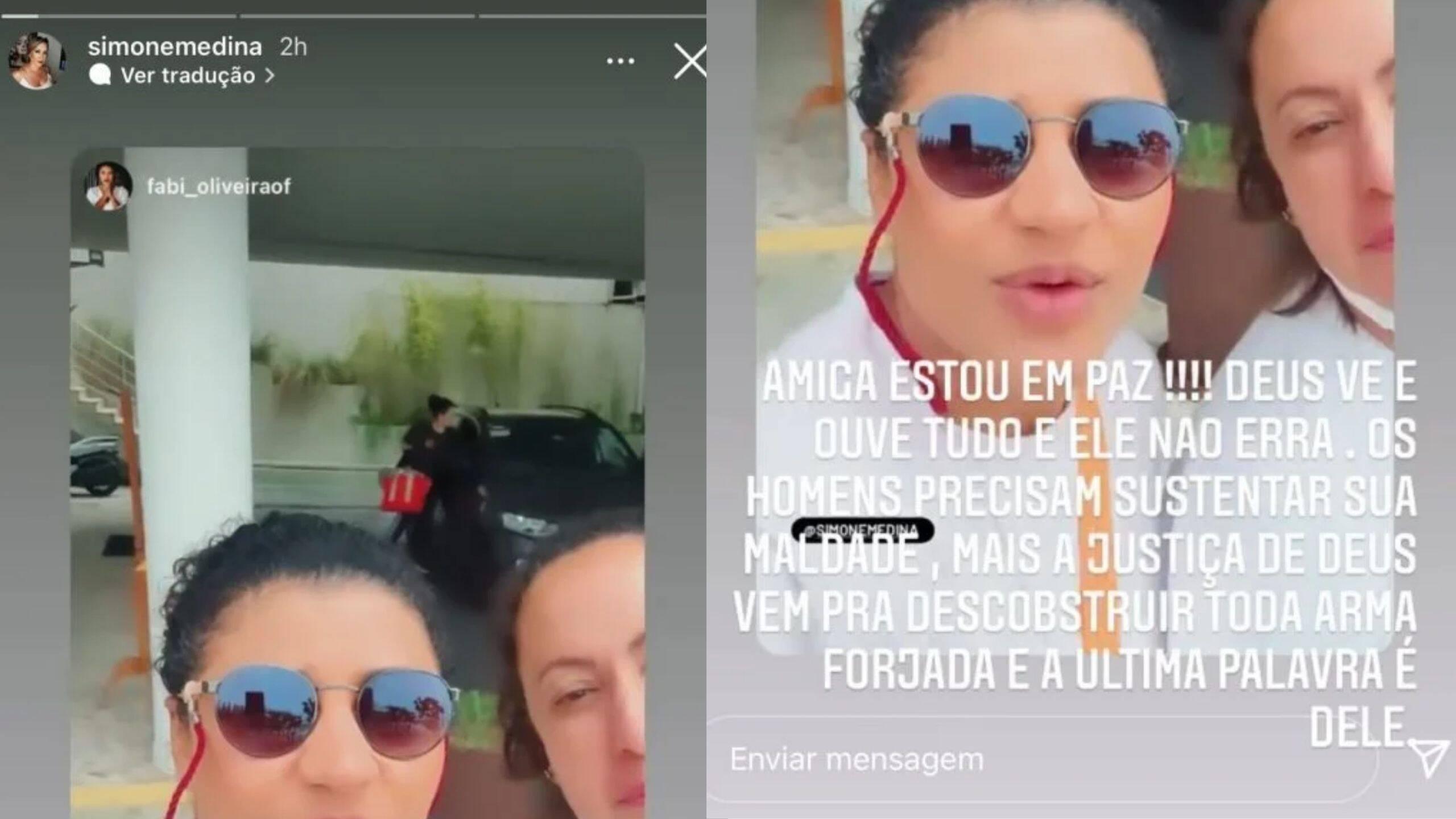 """Simone Medina debocha de confusão na família: """"Justo não se justifica"""" (Foto: Instagram)"""