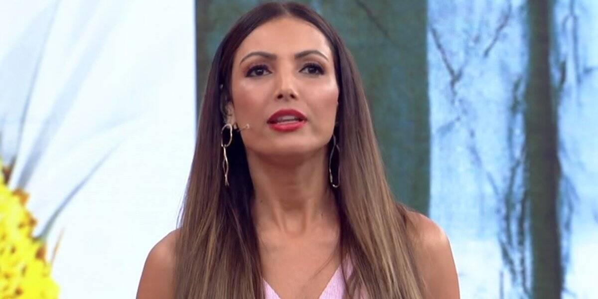 A apresentadora está substituindo Fátima no programa Encontro (Foto: Globo)
